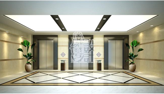 中华室内设计网 作品中心 公共空间 办公空间 > 嘉华作品  天花黑白