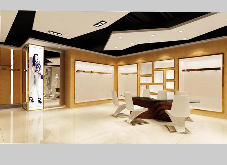 广州伊品服装展厅 - 展示空间 - 广州室内设计网_广州