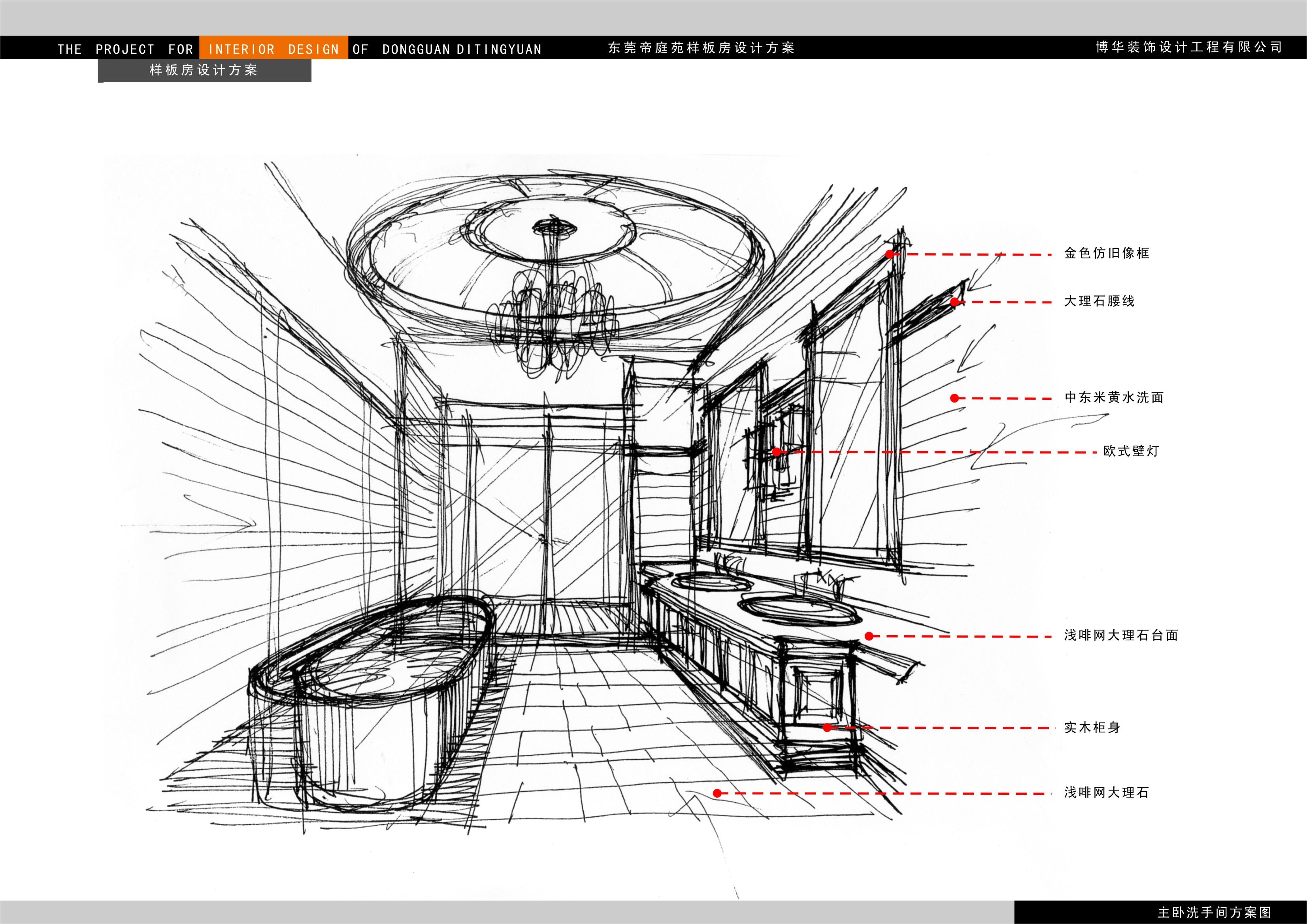 华凯帝庭园 - 住宅空间 - 第2页 - 袁晓琳设计作品案例