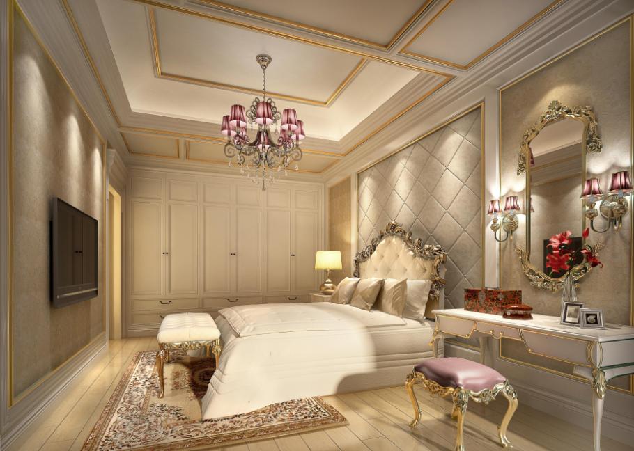 法式宫廷 - 别墅豪宅 - 广州室内设计网_广州室内设计
