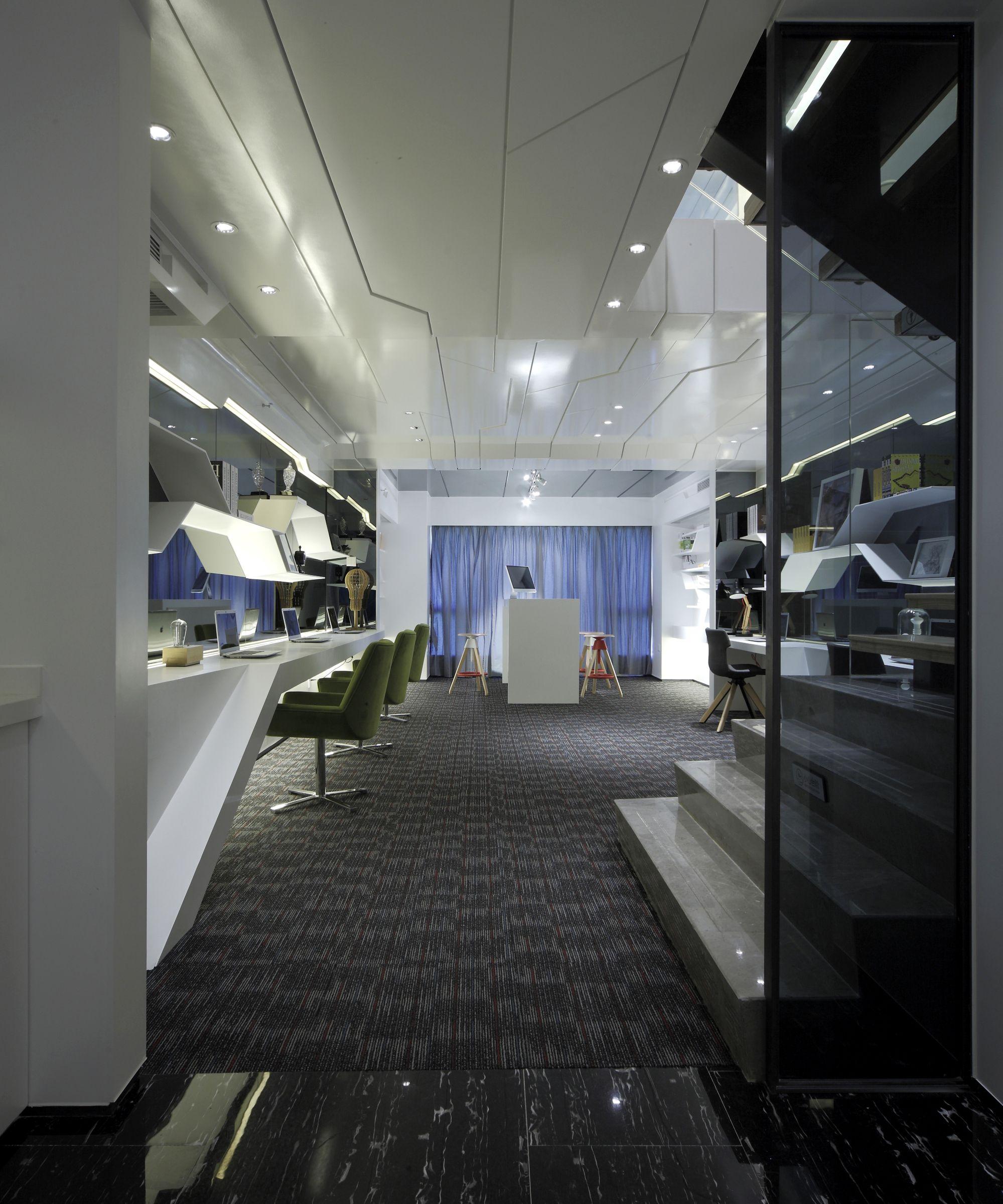 建发中央湾soho办公 - 公寓设计 - 刘家耀设计作品案例