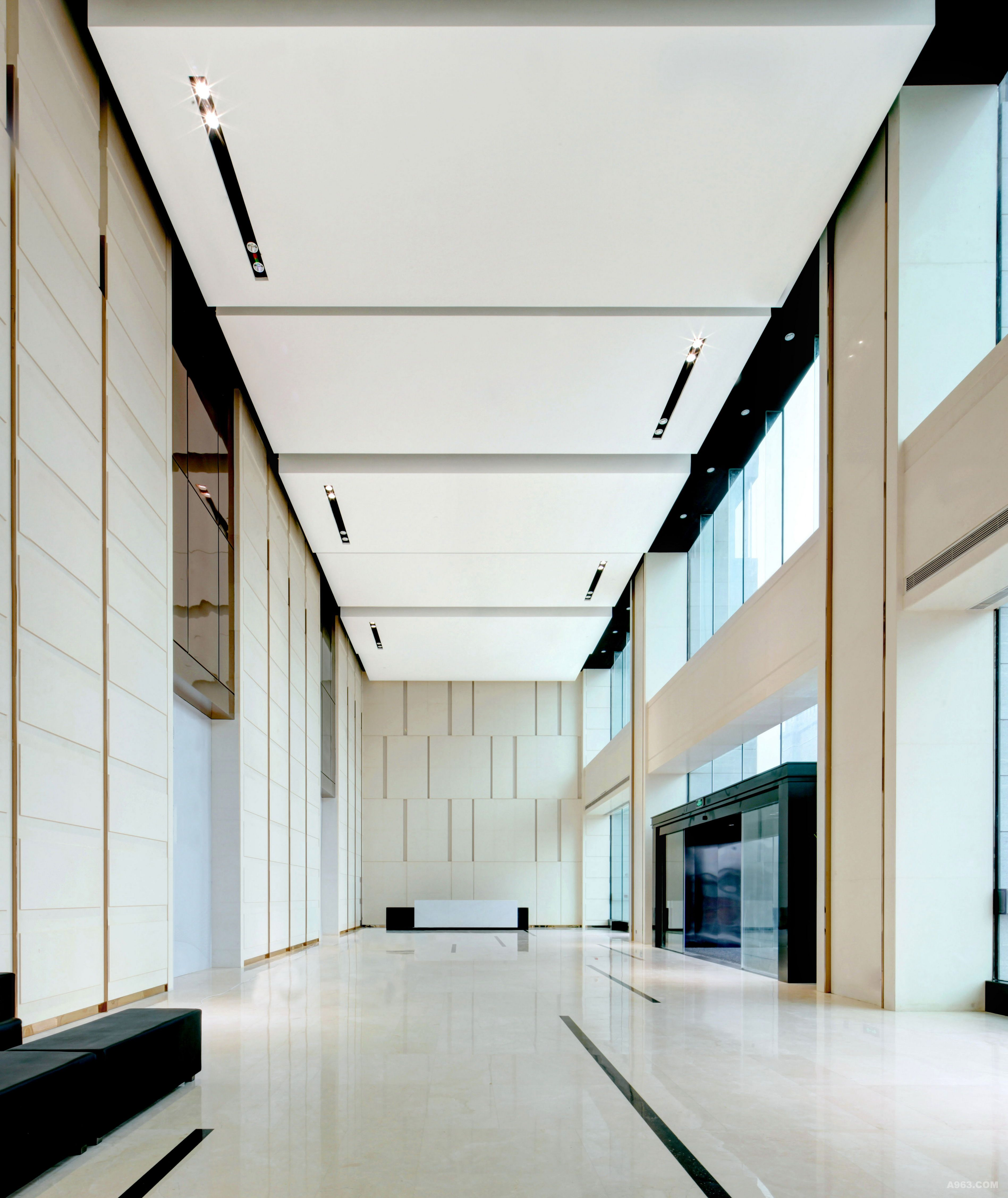 铜锣湾广场甲级办公楼大堂图片