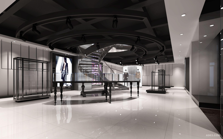 服装展厅 办公空间 - 展示空间 - 第4页 - 周仰贤设计
